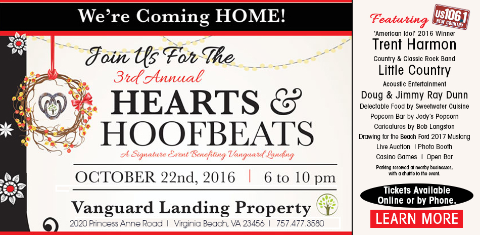 "Our Hearts are Beating for ""Hearts & Hoofbeats"" 2016!"