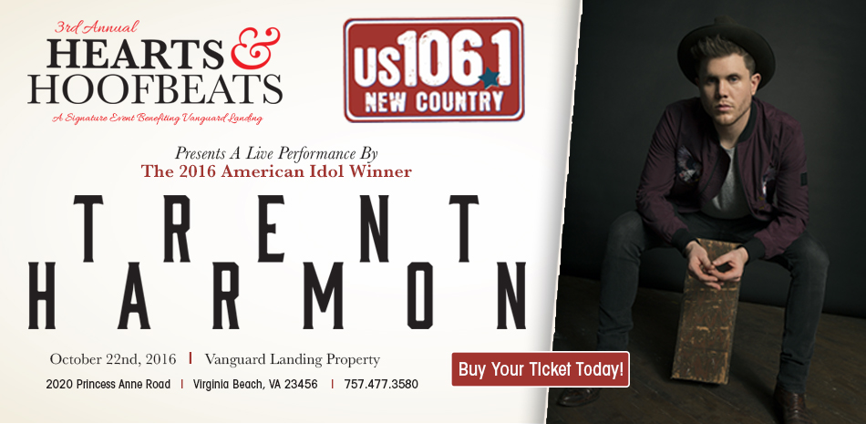 106.1 Presents Trent Harmon LIVE!