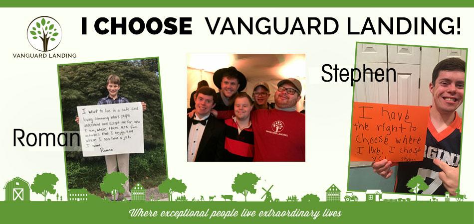 I Choose Vanguard Landing